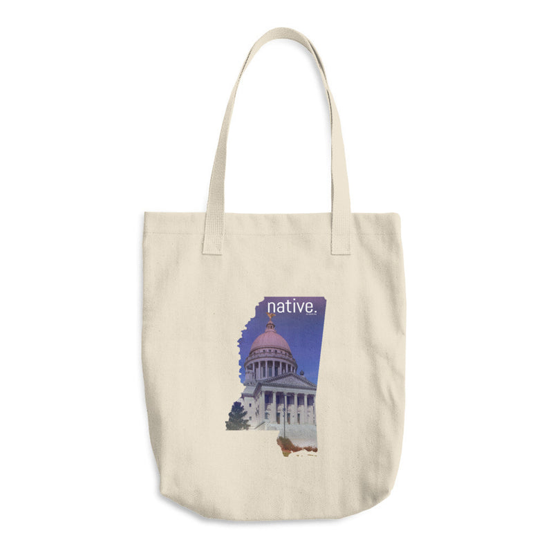 Mississippi Native Cotton Tote Bag