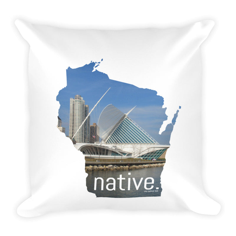 Wisconsin Native Pillow