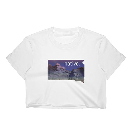 South Dakota Native Women's Crop Top