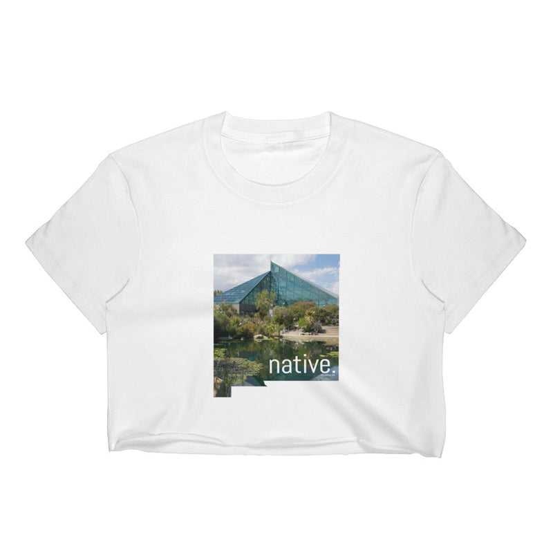 New Mexico Native Women's Crop Top