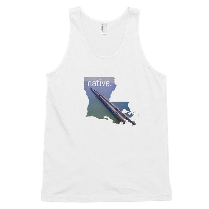 Louisiana Native Men's Tank Top