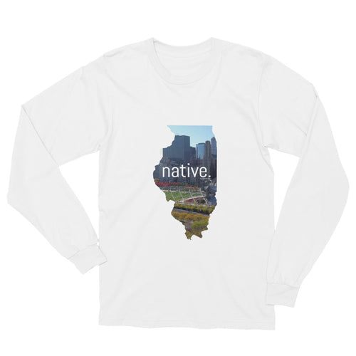 Illinois Native Long Sleeve Tee