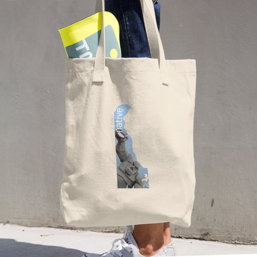 Delaware  Native Cotton Tote Bag