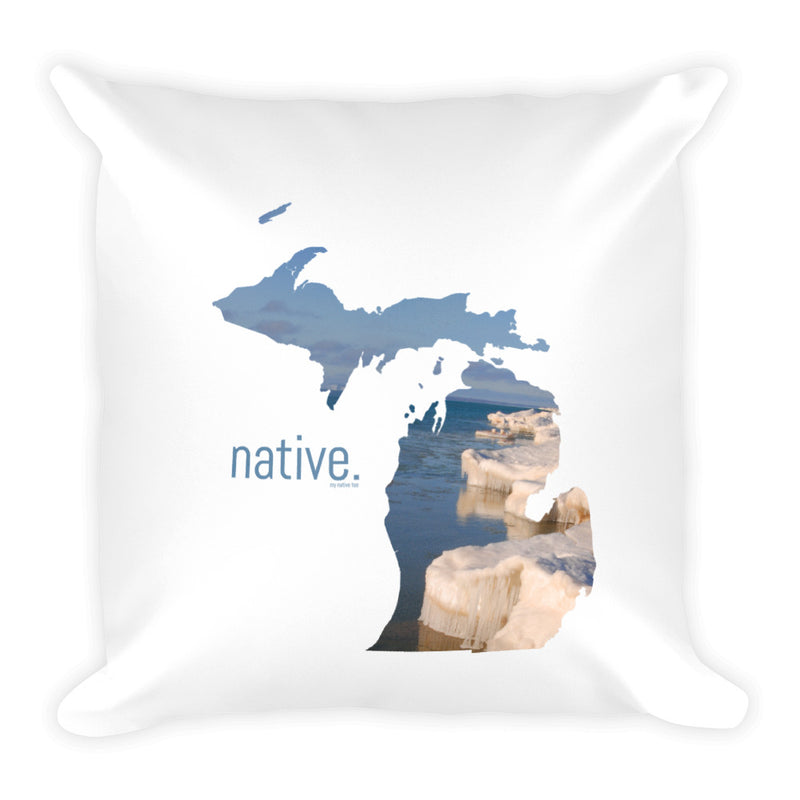 Michigan Native Pillow