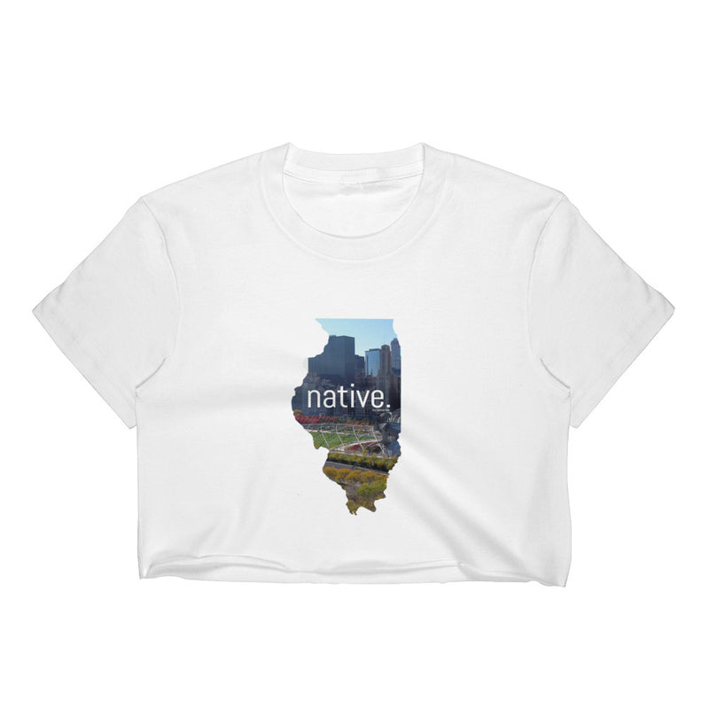 Illinois Native Women's Crop Top
