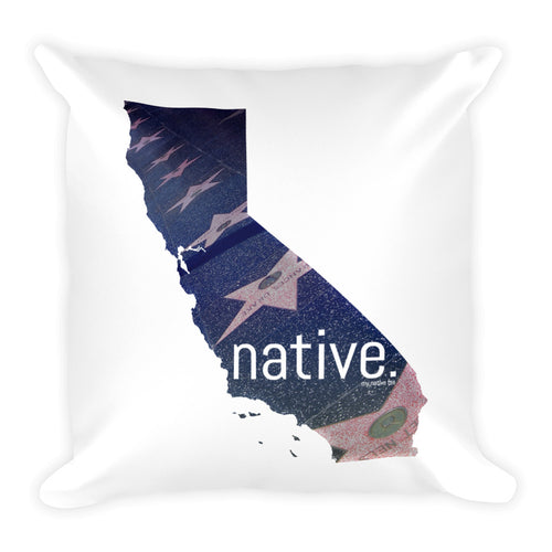 California Native Pillow (Limited Edition)