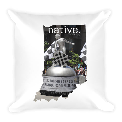 Indiana Native Pillow