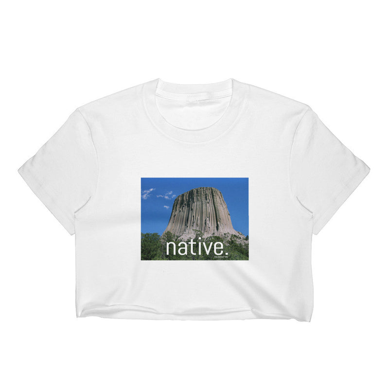 Wyoming Native Women's Crop Top