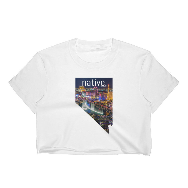 Nevada Native Women's Crop Top