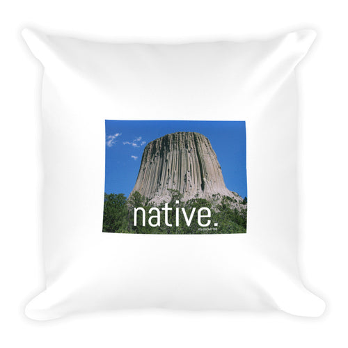 Wyoming Native Pillow