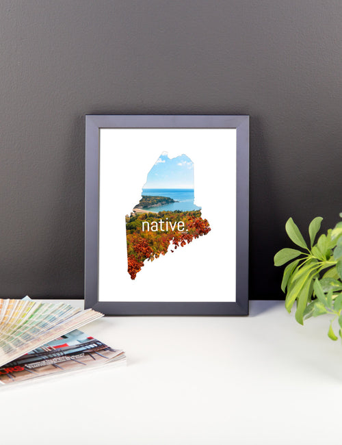 Maine Native Canvas