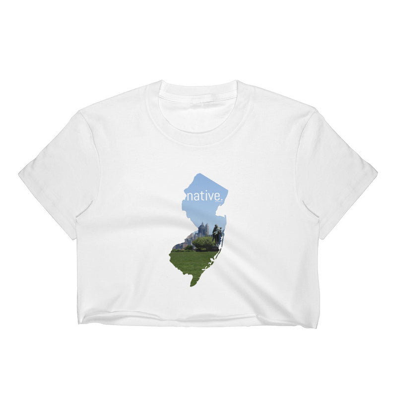 New Jersey Native Women's Crop Top