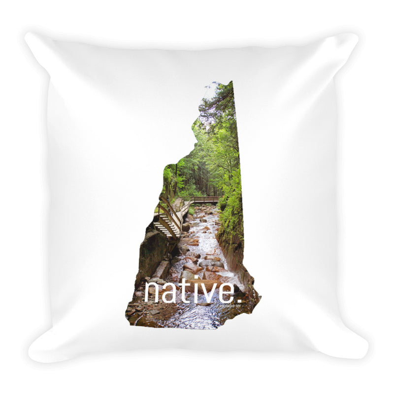New Hampshire Native Pillow