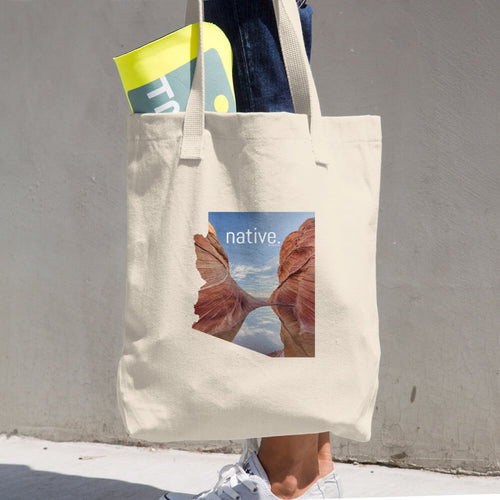 Arizona Native Cotton Tote Bag