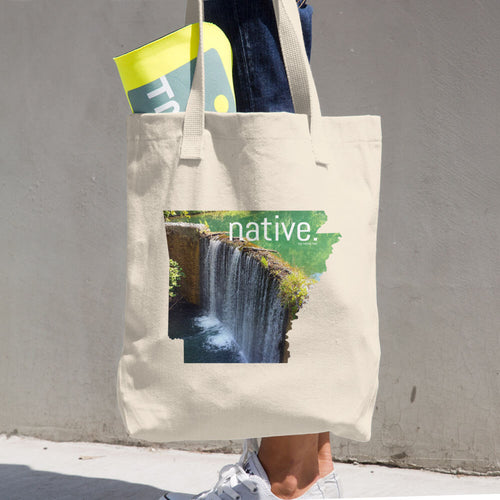 Arkansas Native Cotton Tote Bag