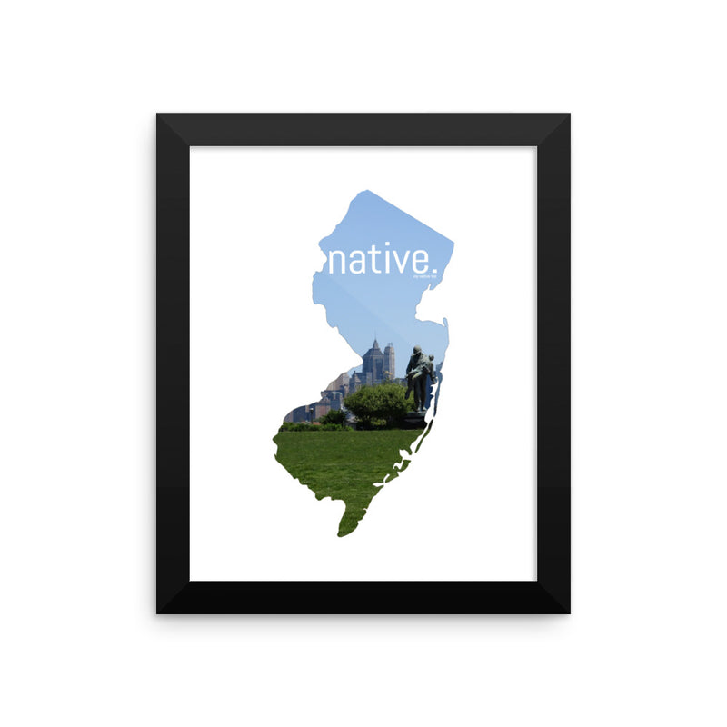New Jersey Native Canvas