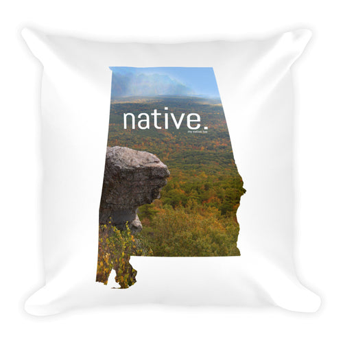 Alabama Native Pillow
