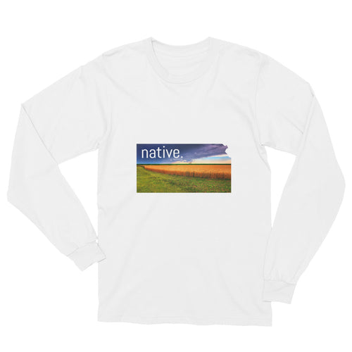 Kansas Native Long Sleeve Tee