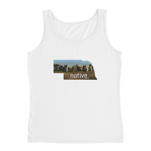 Nebraska Native Women's Tank Top