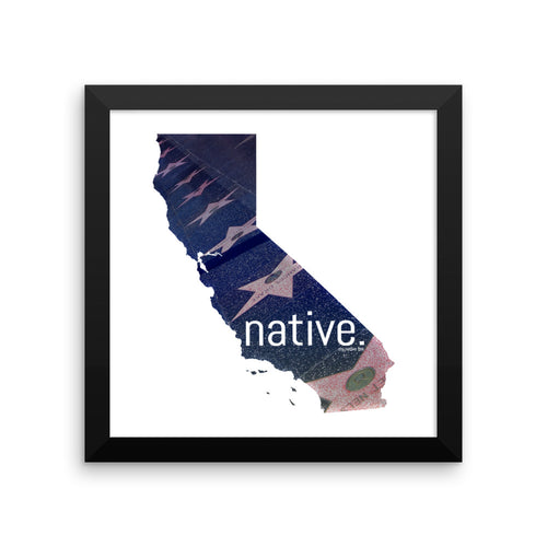 California Native Canvas (Limited Edition)