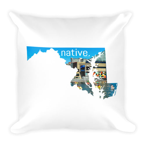 Maryland Native Pillow
