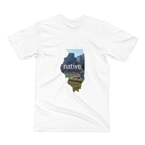Illinois Native Men's Tee