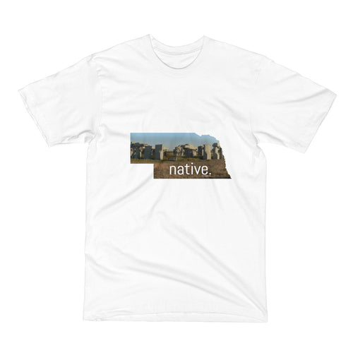 Nebraska Native Men's Tee