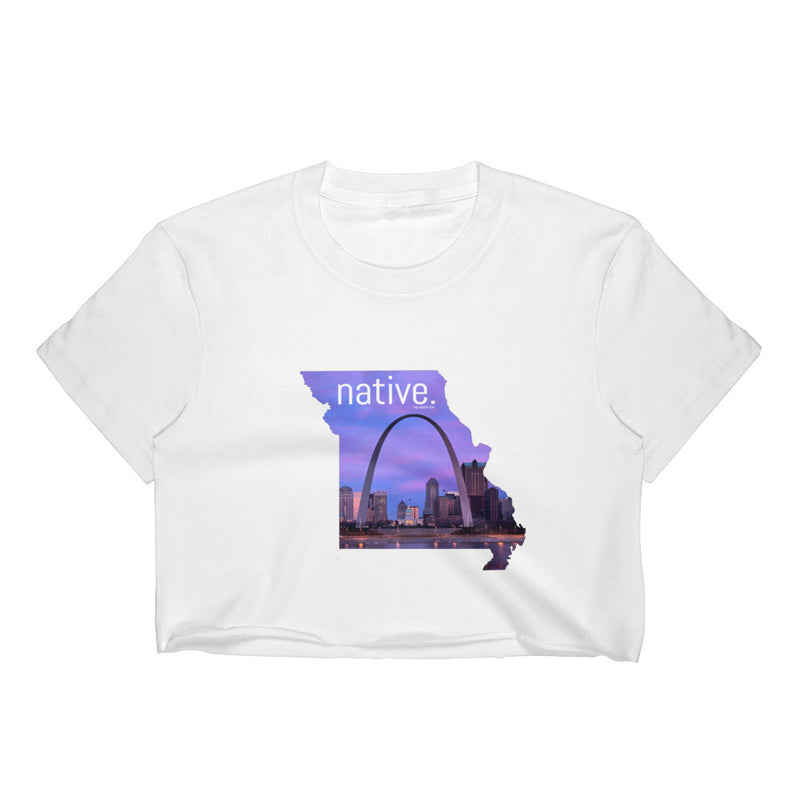 Missouri Native Women's Crop Top