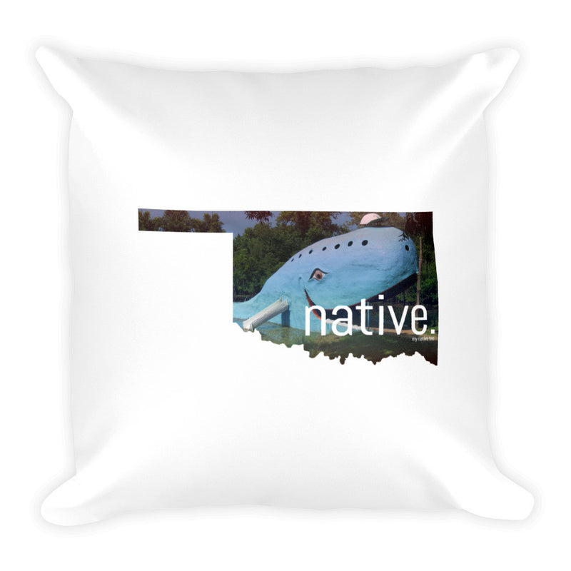 Oklahoma Native Pillow