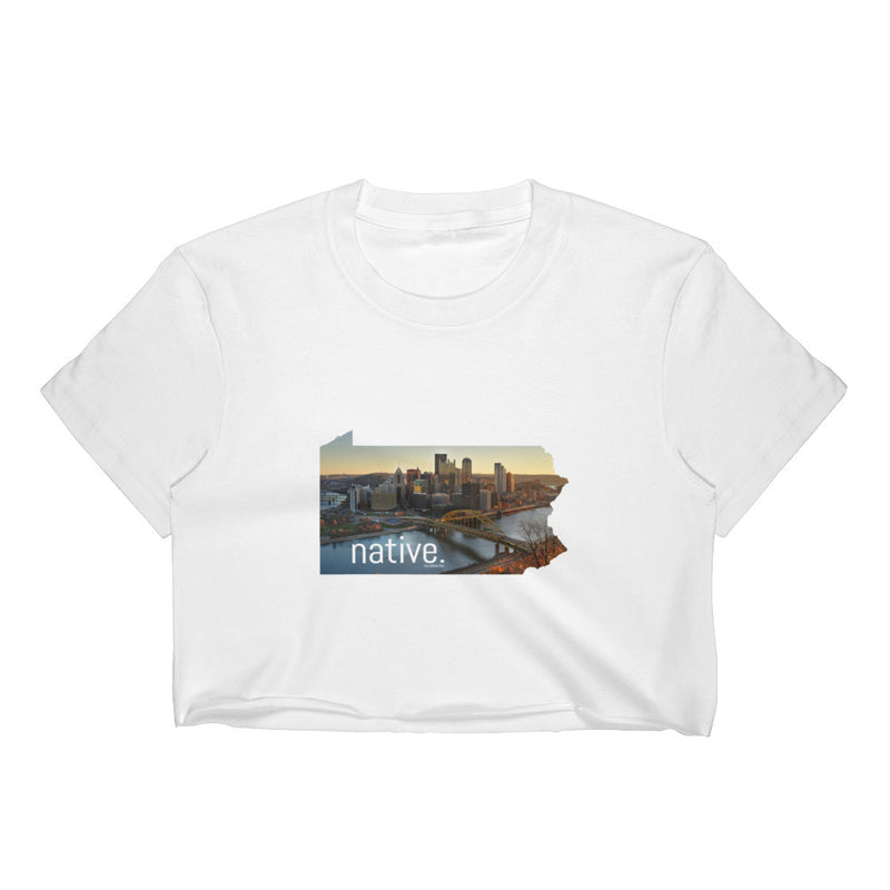 Pennsylvania Native Women's Crop Top