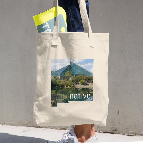 New Mexico Native Cotton Tote Bag