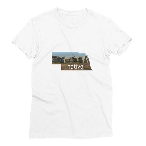 Nebraska Native Women's Tee