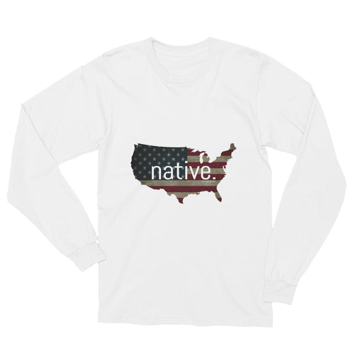 US Native Long Sleeve Tee