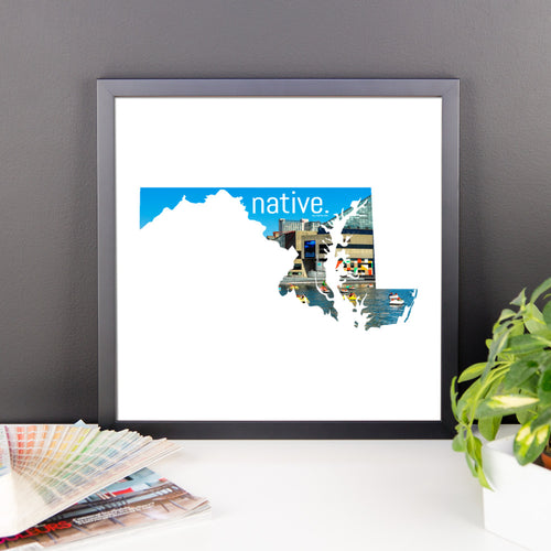 Maryland Native Canvas