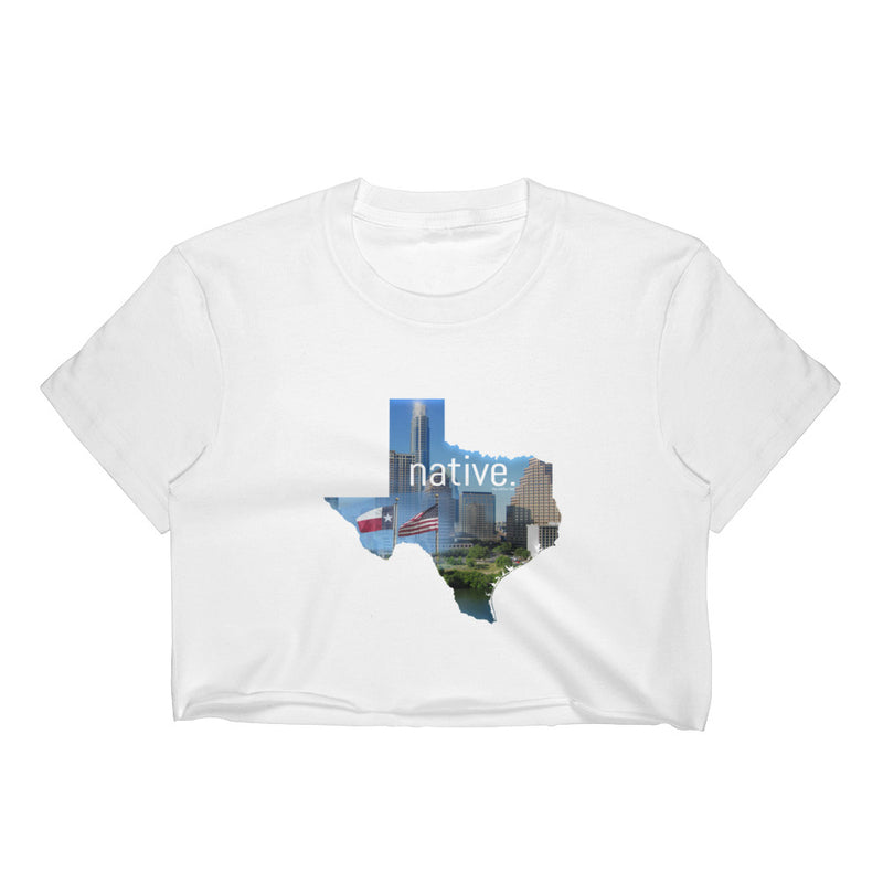 Texas Native Women's Crop Top