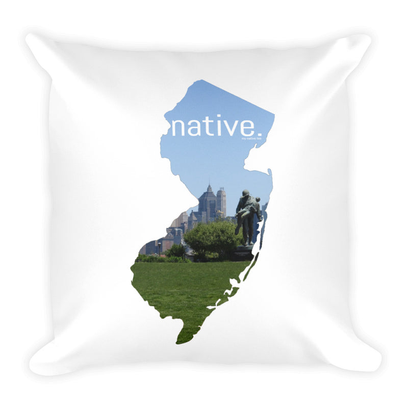 New Jersey Native Pillow