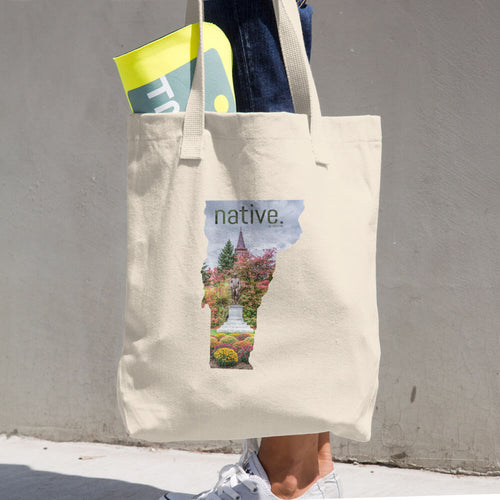 Vermont Native Cotton Tote Bag
