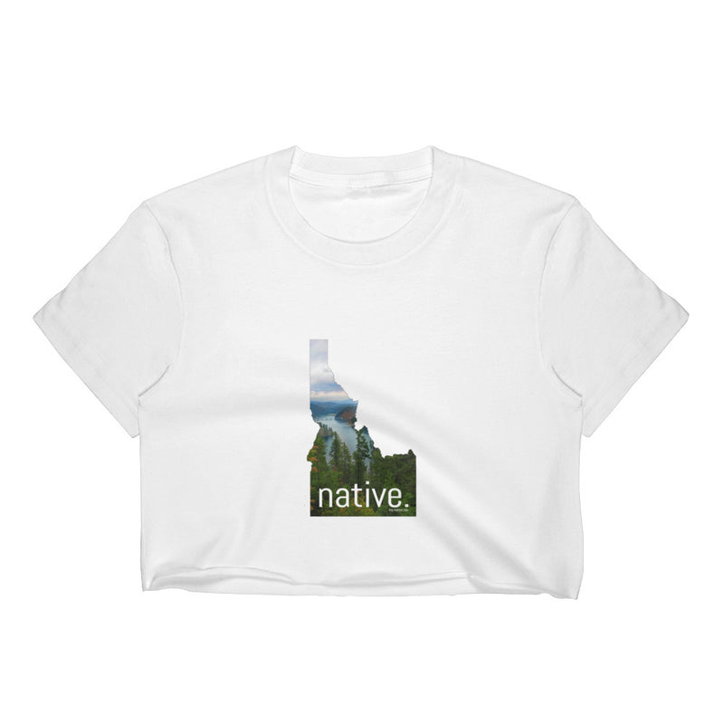 Idaho Native Women's Crop Top