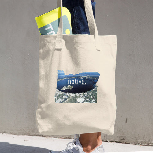 Oregon Native Cotton Tote Bag