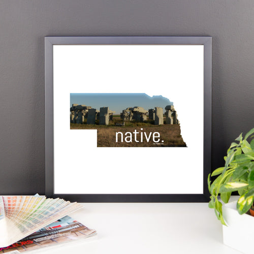 Nebraska Native Canvas