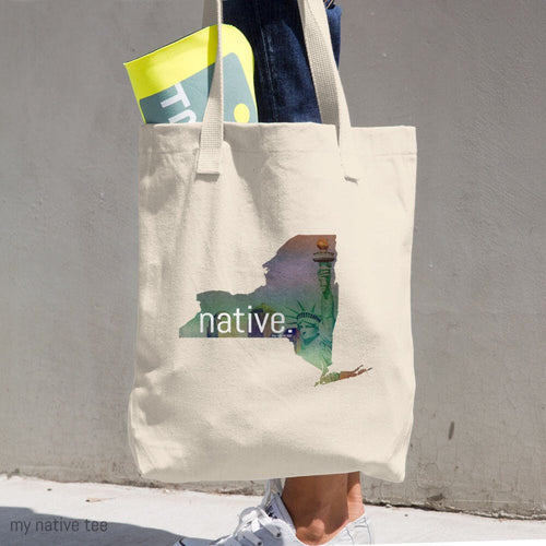 New York Native Cotton Tote Bag My Native Tee
