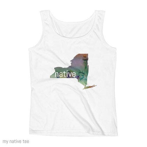 New York Native Women's Tank Top My Native Tee