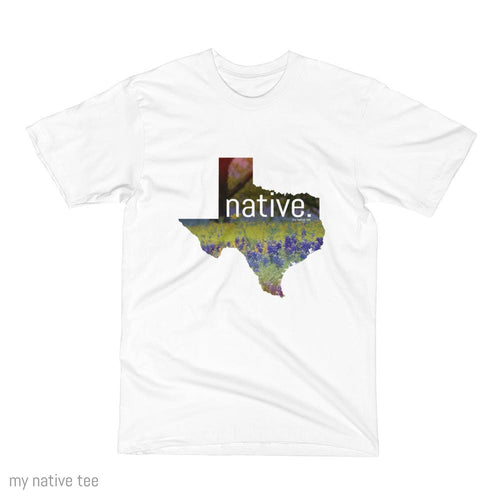 Texas Native Men's Tee My Native Tee
