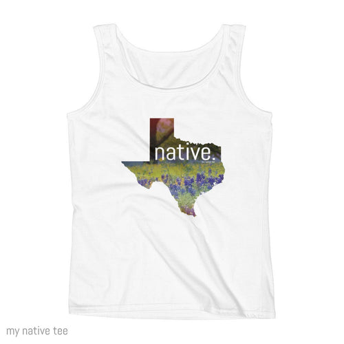 Texas Native Women's Tank Top My Native Tee