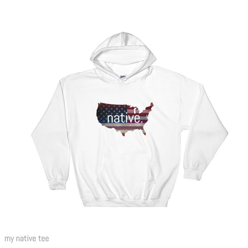 US Native Hoodie My Native Tee