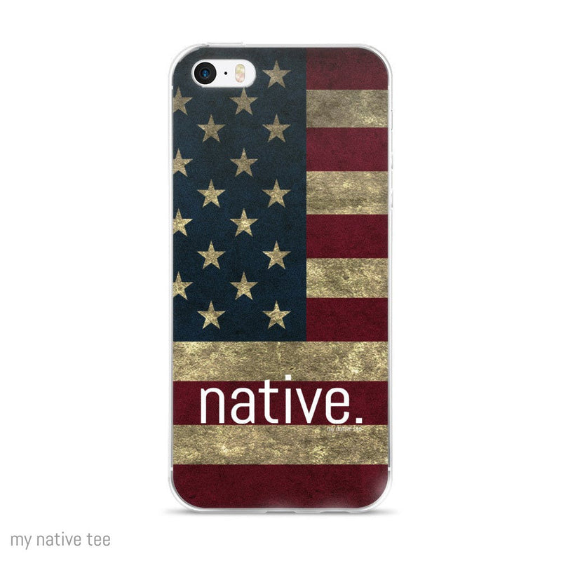 US Native iPhone 5/6/6+ Case My Native Tee