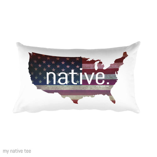US Native Pillow My Native Tee