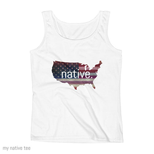 US Native Women's Tank Top My Native Tee
