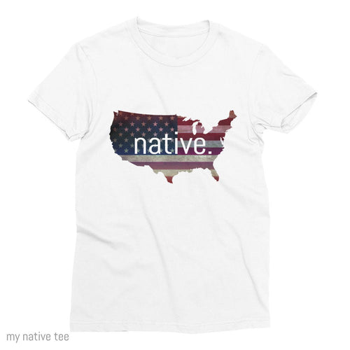US Native Women's Tee My Native Tee