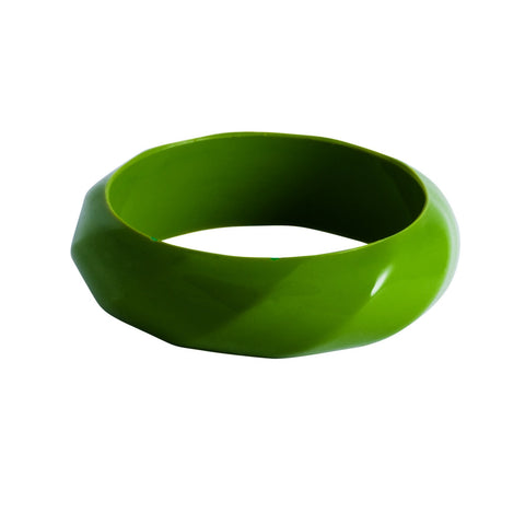Twisted Bangle Forest Green